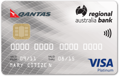 Regional australia bank home loans banking accounts credit cards go further with the visa platinum rewards card reheart Gallery